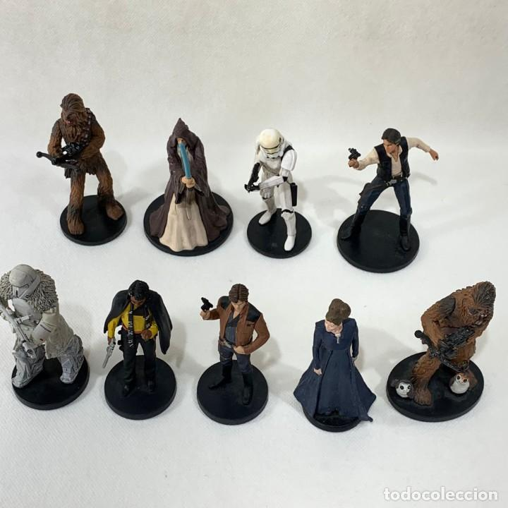 Figuras y Muñecos Star Wars: LOTE 9 FIGURAS STAR WARS - DISNEY - LUCAS FILM - Foto 6 - 287552028