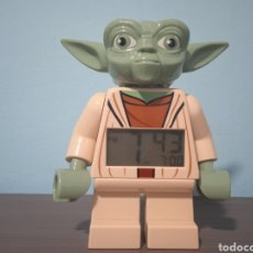 Figuras y Muñecos Star Wars: LEGO STAR WARS RELOJ DESPERTADOR YODA. Lote 287589633