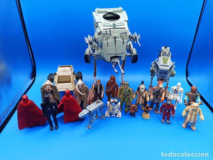 LOTE STAR WARS LUCAS FILM VARIOS AÑOS (Juguetes - Figuras de Acción - Star Wars)