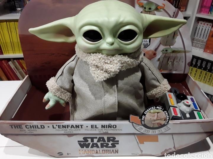 PELUCHE THE CHILD BABY YODA GROGU CON CONTROL REMOTO THE MANDALORIAN STAR WARS (Juguetes - Figuras de Acción - Star Wars)