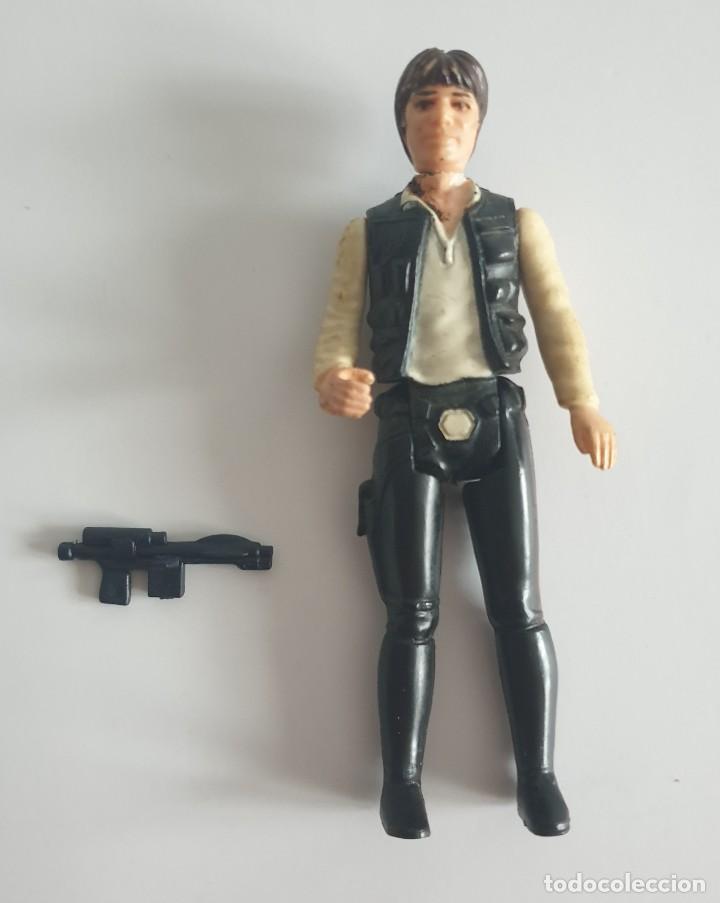FIGURA STAR WARS HAN SOLO 1977 KENNER (Juguetes - Figuras de Acción - Star Wars)
