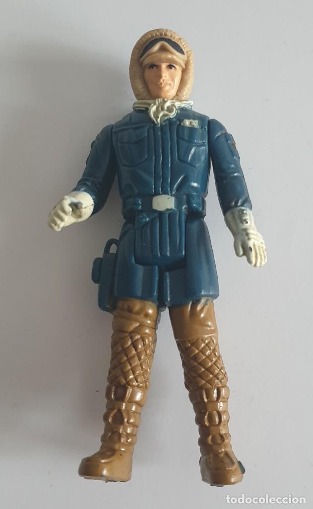 FIGURA STAR WARS HAN SOLO HOTH 1980 KENNER (Juguetes - Figuras de Acción - Star Wars)