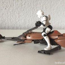 Figurines et Jouets Star Wars: IMPERIAL SPEEDER BIKE - STAR WARS - THE POWER OF THE FORCE - 1995 - KENNER - ¡COMO NUEVO!. Lote 287897748