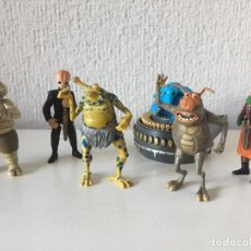 Figuras y Muñecos Star Wars: MAX REBO BAND COMPLETA - STAR WARS - THE POWER OF THE FORCE - 1998 - KENNER - ¡COMO NUEVO!. Lote 287913318