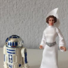 Figuras y Muñecos Star Wars: PRINCESS LEIA AND R2-D2 - STAR WARS - THE POWER OF THE FORCE - 1997 - KENNER - ¡COMO NUEVO!. Lote 287921093