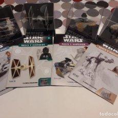 Figuras y Muñecos Star Wars: STAR WARS - NAVES Y VEHÍCULOS (MODELOS Y FASCÍCULOS). Lote 288029548