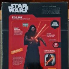 Figuras y Muñecos Star Wars: FIGURA DE ACCIÓN ANIMATRONIC KYLO REN DE STAR WARS. 30 CM. NUEVO EN BLISTER SIN ABRIR. Lote 288227753