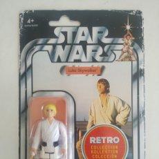 Figuras y Muñecos Star Wars: STAR WAR LUKE SKYWALKER RETRO COLLECTION BLISTER SIN ABRIR KENNER. Lote 288326358