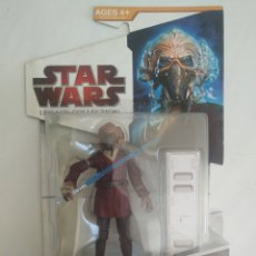 Figuras y Muñecos Star Wars: STAR WARS PLO KOON SAGA LEGENDS BLISTER SIN ABRIR HASBRO. Lote 288332378
