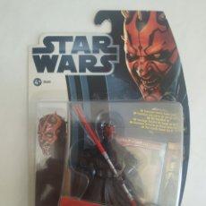 Figuras y Muñecos Star Wars: STAR WARS DARTH MAUL MOVIE HEROES BLISTER SIN ABRIR HASBRO. Lote 288334393