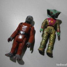 Figuras y Muñecos Star Wars: FIGURA STAR WARS SNAGGLETOOTH 1978 Y COBRA DE DINO RIDERS. Lote 288544623