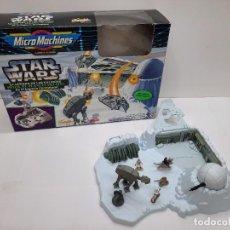 Figuras y Muñecos Star Wars: MICROMACHINES STAR WARS LA GUERRA DE LAS GALAXIAS HOT EL PLANETA HELADO FAMOSA MICRO MACHINES. Lote 288574178