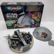 Figuras y Muñecos Star Wars: MICROMACHINES STAR WARS LA GUERRA DE LAS GALAXIAS LA ESTRELLA DE LA MUERTE FAMOSA MICRO MACHINES. Lote 288575563