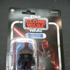 Figure e Bambolotti Star Wars: DARTH MAUL (MANDALORE) FIGURA 10 CM STAR WARS VINTAGE NUEVA HASBRO. Lote 288678683