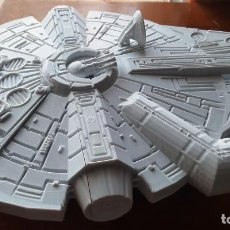 Figuras y Muñecos Star Wars: NAVE HALCON MILENARIO STAR WARS FIGURA IMPRESA EN 3D LUCASFILM 29 CM LARGO MILLENNIUM FALCON. Lote 289370103
