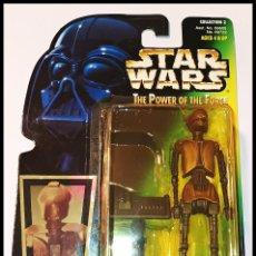 Figuras y Muñecos Star Wars: STAR WARS # EV-9D9 CON DATAPAD # THE POWER OF THE FORCE, NUEVO EN SU BLISTER ORIGINAL DE KENNER.. Lote 290119708