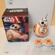 Figuras y Muñecos Star Wars: BB-8 STAR WARS -THE FORCE AWAKENS-RADIO CONTROL- CON SONIDOS -FUNCIONANDO-11 CM DE DIAMETRO. Lote 290718508