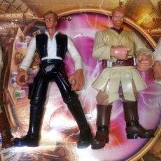 Figuras y Muñecos Star Wars: LOTE DE 4 FIGURAS STAR WARS CON DEFECTOS, PARA PIEZAS O REPARAR. Lote 291043113