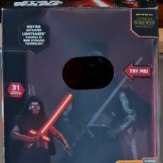 Figuras y Muñecos Star Wars: FIGURA DE ACCIÓN ANIMATRONIC KYLO REN DE STAR WARS. 45 CM. NUEVO EN BLISTER SIN ABRIR. Lote 294043323