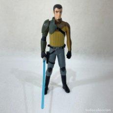 Figuras y Muñecos Star Wars: STAR WARS - FIGURA KANAN JARRUS + ARMA - LFL - HASBRO - 14.5 CM. Lote 296799333