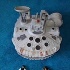 Figuras y Muñecos Star Wars: STAR WARS VEHÍCULO Y FIGURA HALCÓN MILENARIO. Lote 296813278