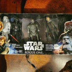 Figuras y Muñecos Star Wars: STAR WARS - ROGUE ONE - 5 FIGURAS - HASBRO - ULTIMATE 2016 EXCLUSIVE - 30 CM - DESCATALOGADO INCOMPL. Lote 297046488