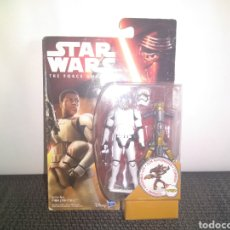 Figuras y Muñecos Star Wars: STAR WARS THE FORCE AWAKENS FINN JAKKU HASBRO BLISTER NUEVO JEDIS DROIDES EWOKS. Lote 297076178
