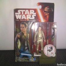 Figuras y Muñecos Star Wars: STAR WARS THE FORCE AWAKENS REY JAKKU HASBRO BLISTER NUEVO JEDIS DROIDES EWOKS. Lote 297076378