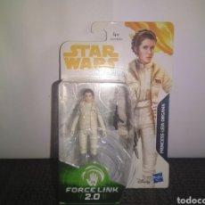 Figuras y Muñecos Star Wars: STAR WARS THE FORCE AWAKENS PRINCESA LEIA ORGANA FORC JAKKU BLISTER NUEVO JEDIS DROIDES EWOKS. Lote 297076493