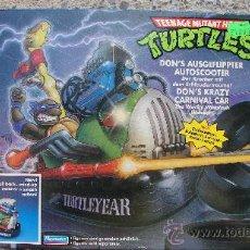 Figuras y Muñecos Tortugas Ninja: AUTO SCOOTER - TORTUGAS NINJA - PLAYMATES - BANDAI. Lote 27194945