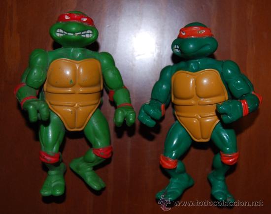 TORTUGAS NINJA BANDAI PLAYMATES 1988 (Juguetes - Figuras de Acción - Tortugas Ninja)