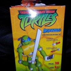 Figuras y Muñecos Tortugas Ninja: TORTUGAS NINJA SERIE TV MODERNA, LEONARDO SUPERMAG , EN SU CAJA. Lote 27693680
