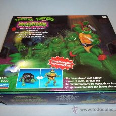Figures and Dolls Ninja Turtles - Tortugas Ninja, RAPHAEL MUTANTE, de Bandai. 1988 Mirage Studios,Playmates. - 29271418