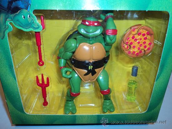 Figuras y Muñecos Tortugas Ninja: Tortugas Ninja, RAPHAEL MUTANTE, de Bandai. 1988 Mirage Studios,Playmates. - Foto 2 - 29271418