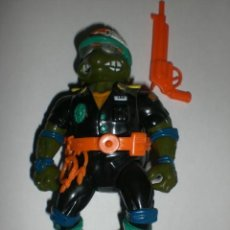 Figuras y Muñecos Tortugas Ninja: FIGURA VINTAGE TORTUGAS NINJA - LEONARDO POLICIA-. Lote 36069747
