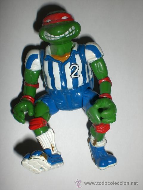 FIGURA VINTAGE TORTUGAS NINJA - RAFAEL FUTBOLISTA (Juguetes - Figuras de Acción - Tortugas Ninja)