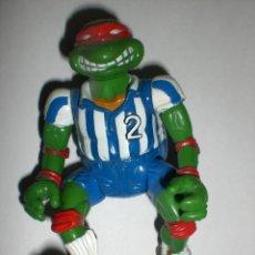 Figuras y Muñecos Tortugas Ninja: FIGURA VINTAGE TORTUGAS NINJA - RAFAEL FUTBOLISTA. Lote 31987407