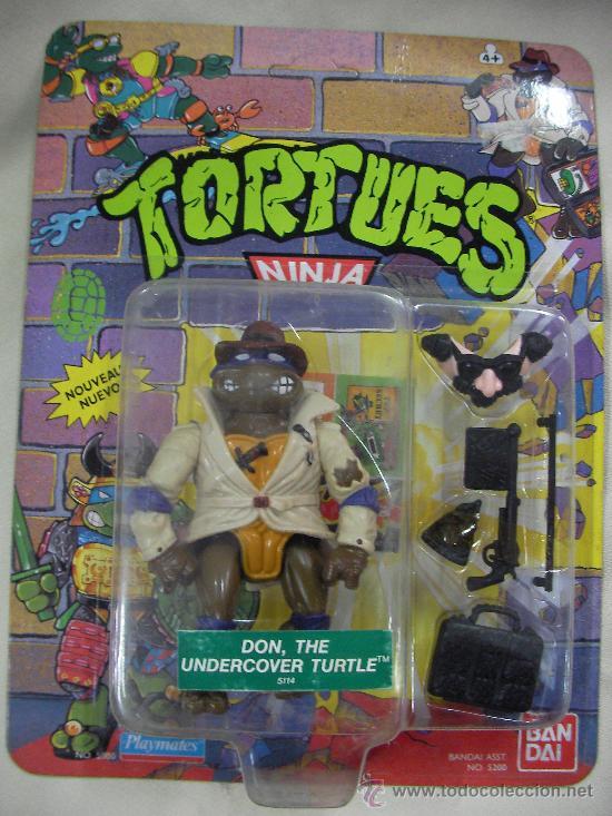 ANTIGUOS BLISTER LEO, DON Y RAPH TORTUGAS NINJA DE COLECCION NUEVOS PRECINTADOS A ELEGIR UNO (Juguetes - Figuras de Acción - Tortugas Ninja)