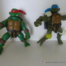 Figuras y Muñecos Tortugas Ninja: LOTE 2 TORTUGAS NINJA. Lote 36427555
