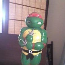 Figuras y Muñecos Tortugas Ninja: FIGURA . FRASCO DE PLÁSTICO DE CHAMPÚ TORTUGAS NINJA 1990 MIRAGE STUDIOS.. Lote 36910050
