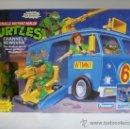 Figuras y Muñecos Tortugas Ninja: 1993 VINTAGE TEENAGE MUTANT NINJA TMNT TORTUGAS NINJA - CHANNEL 6 NEWSVAN (FURGONETA DE APRIL). Lote 37591650