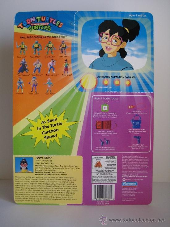 Figuras y Muñecos Tortugas Ninja: 1993 Vintage Teenage Mutant Ninja TMNT Tortugas ninja - Irma - Foto 6 - 38560734