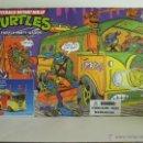 Figuras y Muñecos Tortugas Ninja: 2009 TEENAGE MUTANT NINJA TMNT TORTUGAS NINJA - PARTY WAGON 25 ANIVERSARIO. Lote 39325136