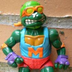 Figuras y Muñecos Tortugas Ninja: FIGURA ARTICULADA TORTUGA NINJA MICHELANGELO AÑO 1991 MIRAGE STUDIOS. Lote 39462332