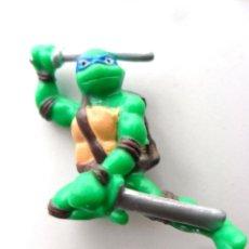 Figuras y Muñecos Tortugas Ninja: TMNT TORTUGAS NINJA LEONARDO KINDER MIRAGE STUDIOS 2007. Lote 41226494