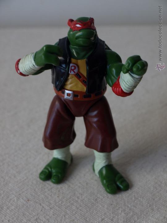 Figuras y Muñecos Tortugas Ninja: TORTUGA NINJA ARTICULADA. 12 CM ALTO. 1997 MIRAGE STUDIOS.PLAYMATES TOYS. VER FOTOS Y DESCRIPCION. - Foto 2 - 42154095