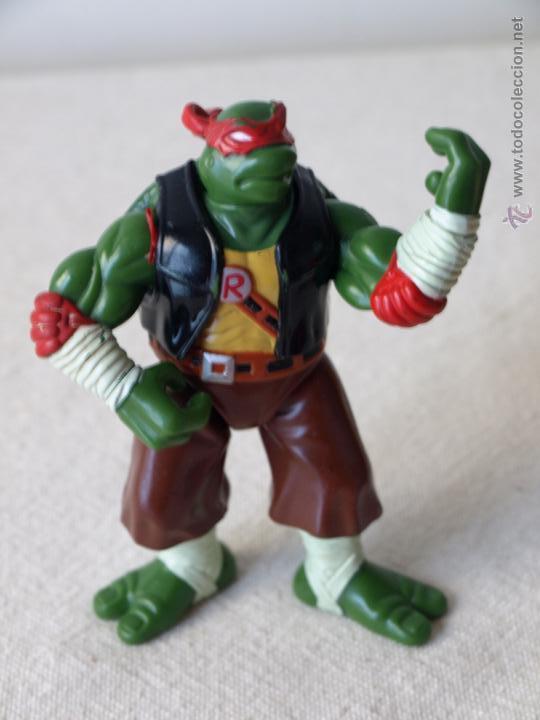 Figuras y Muñecos Tortugas Ninja: TORTUGA NINJA ARTICULADA. 12 CM ALTO. 1997 MIRAGE STUDIOS.PLAYMATES TOYS. VER FOTOS Y DESCRIPCION. - Foto 3 - 42154095