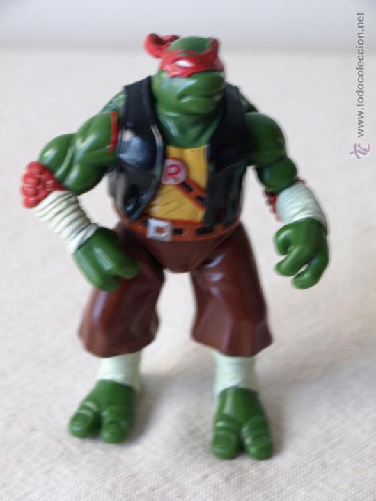 Figuras y Muñecos Tortugas Ninja: TORTUGA NINJA ARTICULADA. 12 CM ALTO. 1997 MIRAGE STUDIOS.PLAYMATES TOYS. VER FOTOS Y DESCRIPCION. - Foto 4 - 42154095