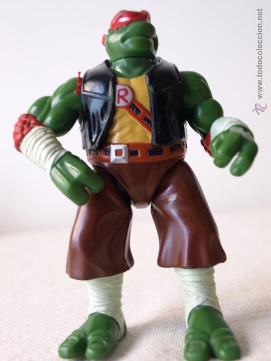 Figuras y Muñecos Tortugas Ninja: TORTUGA NINJA ARTICULADA. 12 CM ALTO. 1997 MIRAGE STUDIOS.PLAYMATES TOYS. VER FOTOS Y DESCRIPCION. - Foto 5 - 42154095
