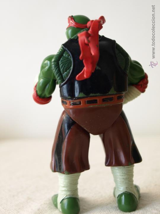 Figuras y Muñecos Tortugas Ninja: TORTUGA NINJA ARTICULADA. 12 CM ALTO. 1997 MIRAGE STUDIOS.PLAYMATES TOYS. VER FOTOS Y DESCRIPCION. - Foto 6 - 42154095